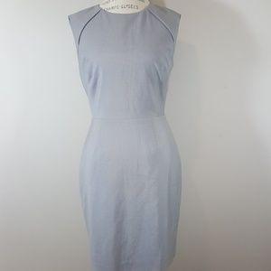 Tahari sleeveless midi dress career wear midi